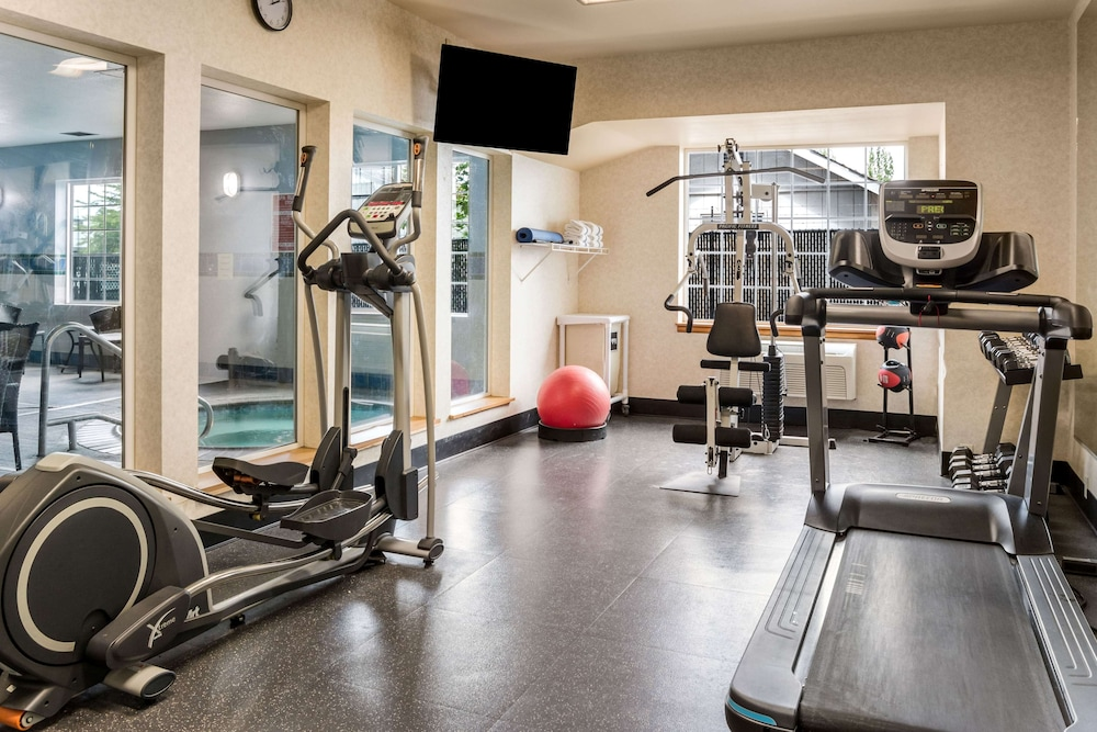 Fitness Facility, La Quinta Inn & Suites by Wyndham Eugene