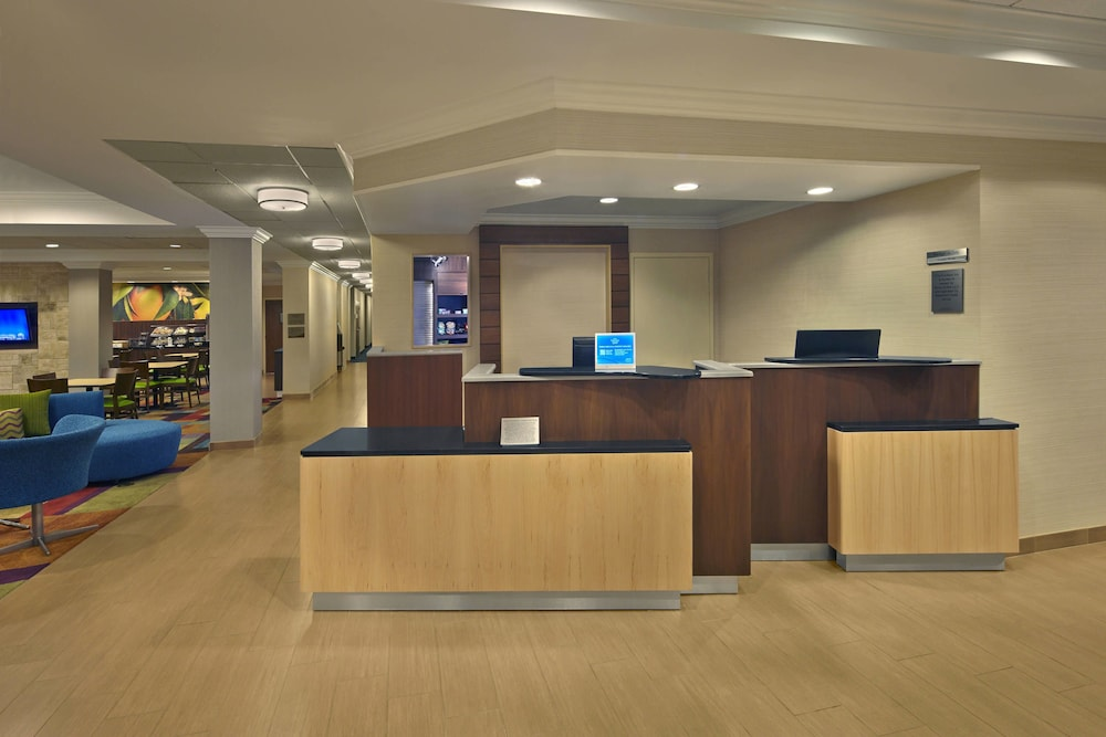 Lobby, Fairfield Inn And Suites By Marriott Boca Raton
