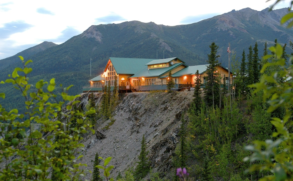 Aerial View, Grande Denali Lodge