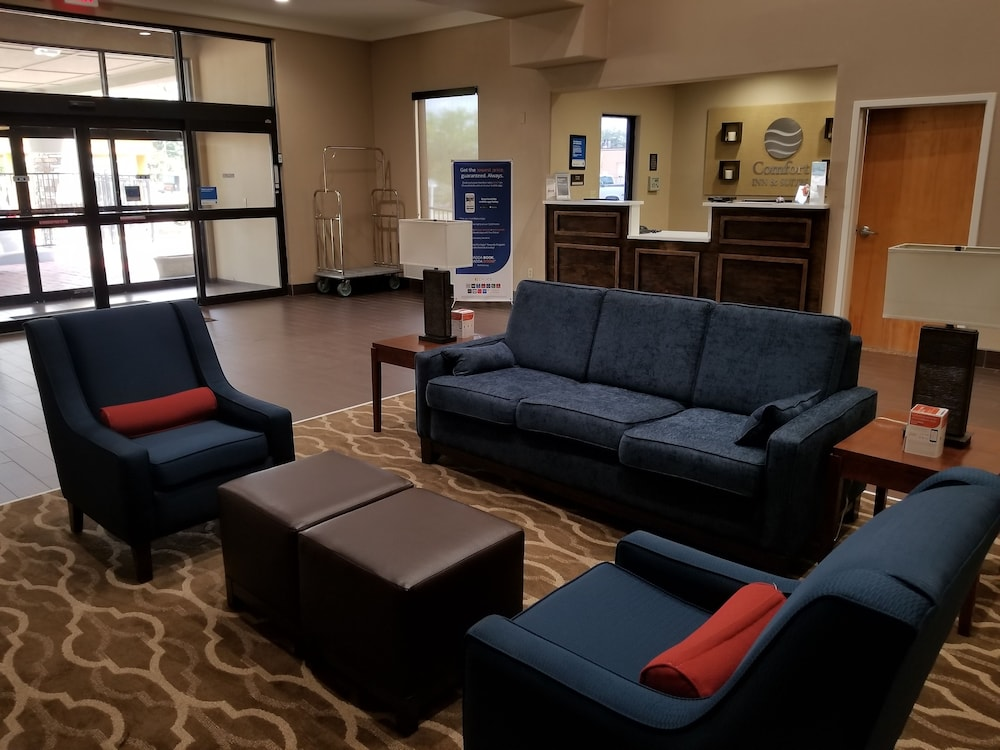 Lobby Sitting Area, Comfort Inn & Suites Airport