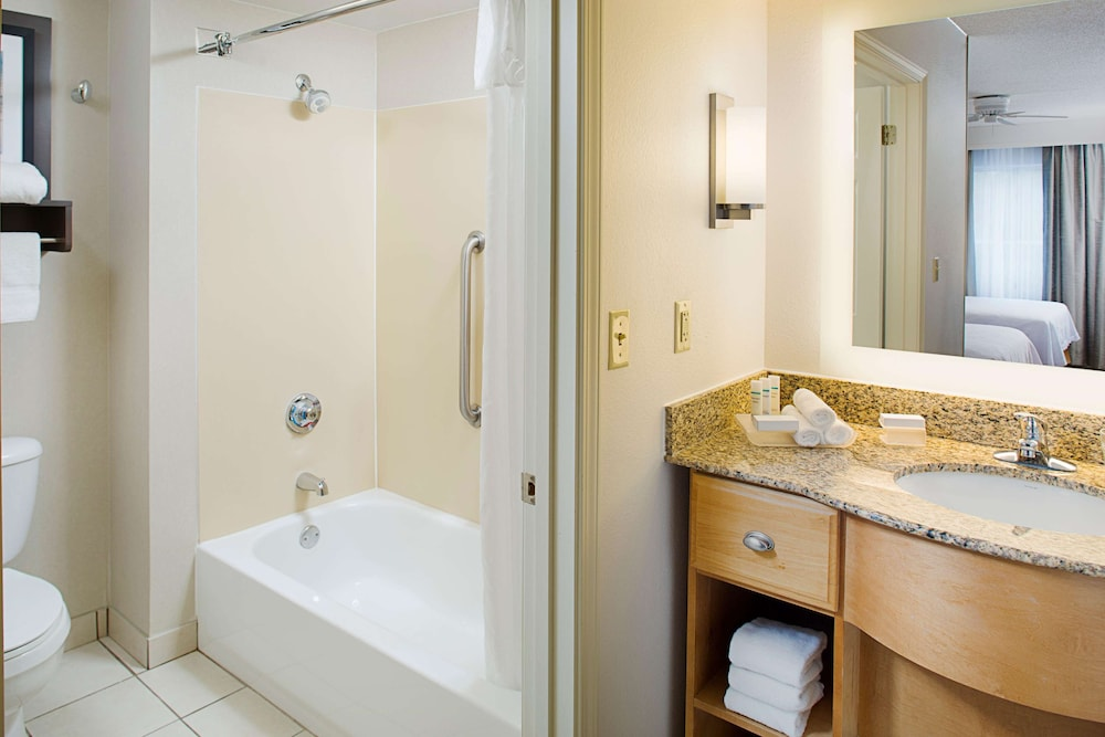 Bathroom, The Homewood Suites by Hilton Colorado Springs North