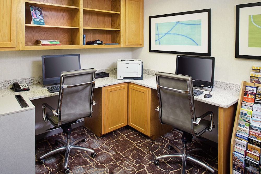 Business Center, The Homewood Suites by Hilton Colorado Springs North