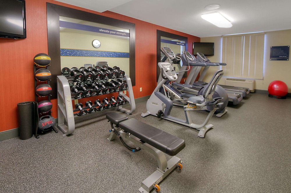 Fitness Facility, Hampton Inn Milpitas