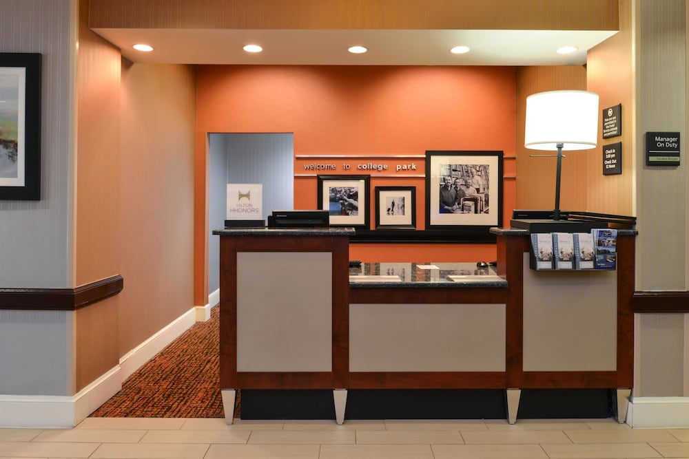 Reception, Hampton Inn College Park