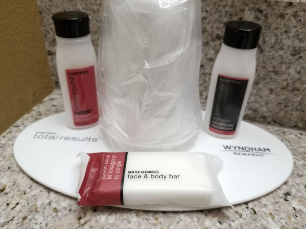 Bathroom Amenities, Microtel Inn & Suites by Wyndham Dayton/Riverside OH