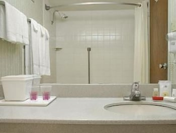 Bathroom, Ramada by Wyndham Angola/Fremont Area