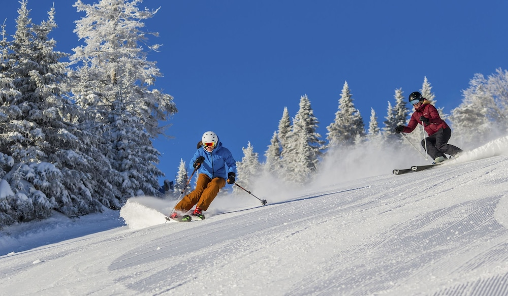 Skiing, Le Westin Resort & Spa, Tremblant, Quebec