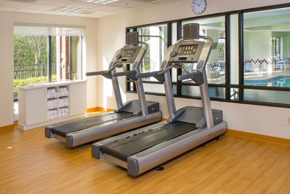 Gym, SpringHill Suites by Marriott Charlotte Univ. Research Park