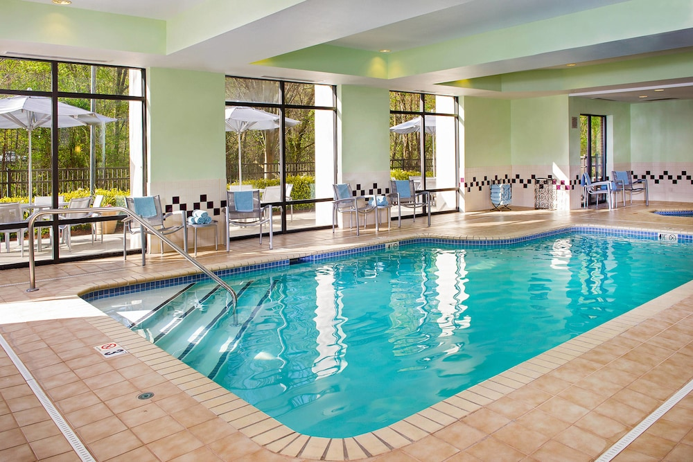 Indoor Pool, SpringHill Suites by Marriott Charlotte Univ. Research Park