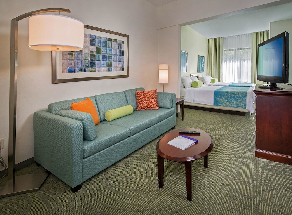 Living Area, SpringHill Suites by Marriott Charlotte Univ. Research Park