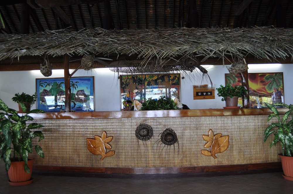 Check-in/Check-out Kiosk, Royal Huahine