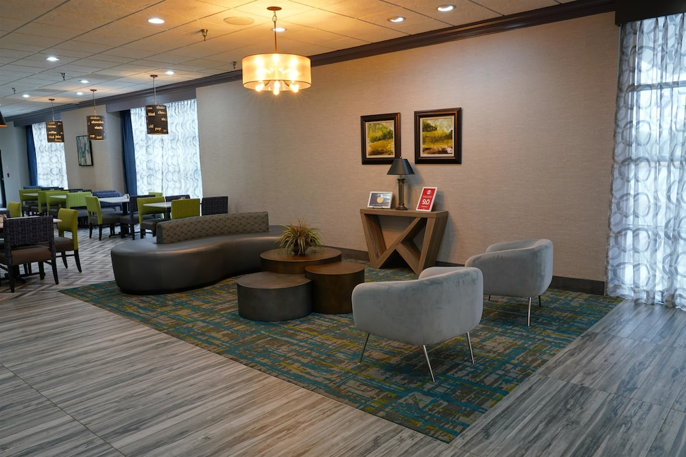 Lobby, Best Western Plus Morristown Conference Center Hotel