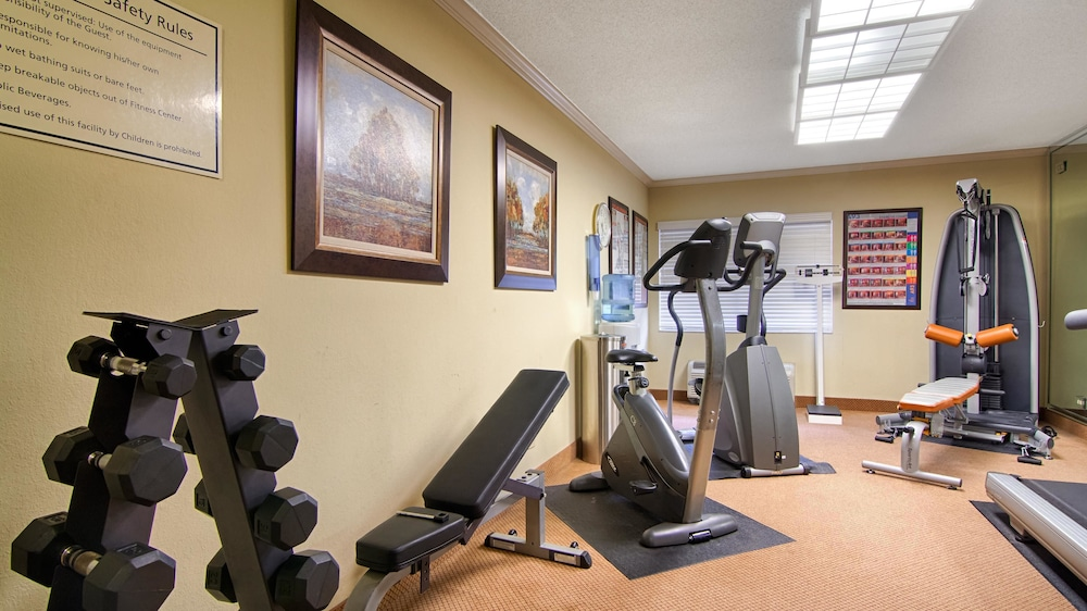 Fitness Facility, Best Western Plus Morristown Conference Center Hotel