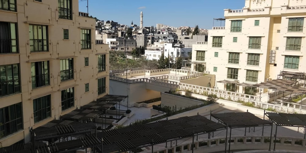 View from Room, Jacir Palace Hotel Bethlehem