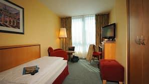 Premium-sengetøj, Select Comfort-senge, minibar, pengeskab