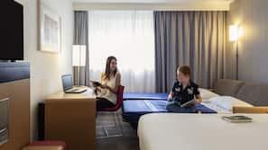 Literie de qualité supérieure, coffres-forts dans les chambres