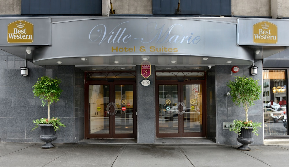 Property Entrance, Best Western Ville-Marie Montreal Hotel & Suites
