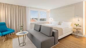 Allergikerbettwaren, Pillowtop-Betten, Minibar, Zimmersafe