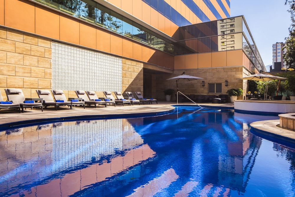 Indoor/Outdoor Pool, Santiago Marriott Hotel