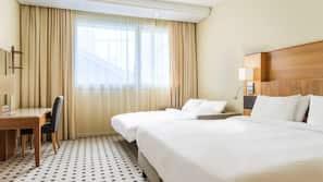 Literie hypoallergénique, minibar, coffre-forts dans les chambres