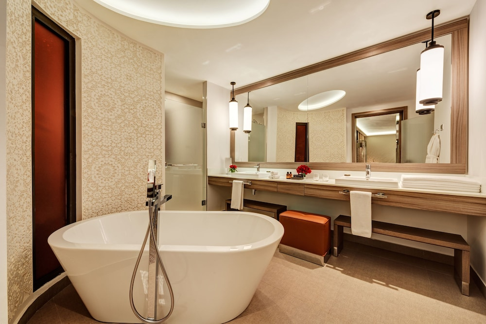 Bathroom, Movenpick Hotel Mansour Eddahbi Marrakech