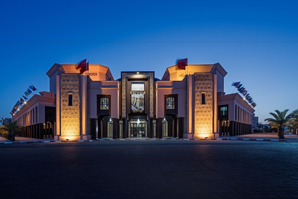 Front of Property - Evening/Night, Movenpick Hotel Mansour Eddahbi Marrakech