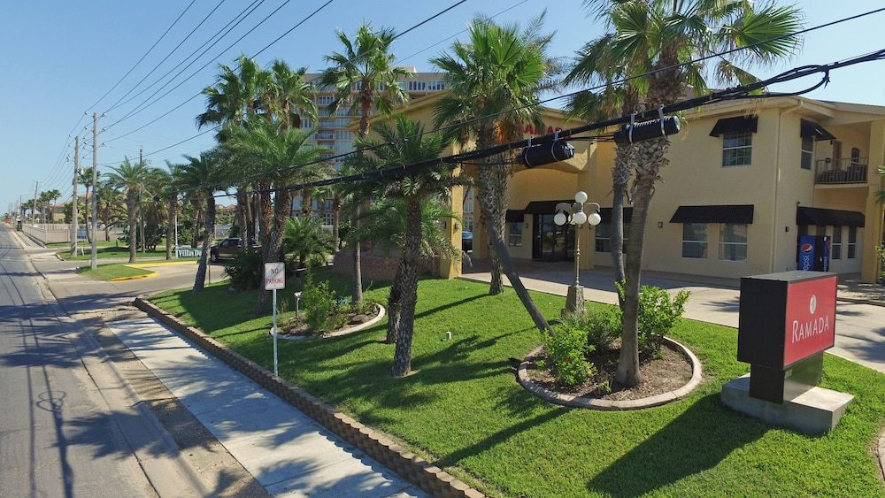 Front of Property, Ramada by Wyndham & Suites South Padre Island