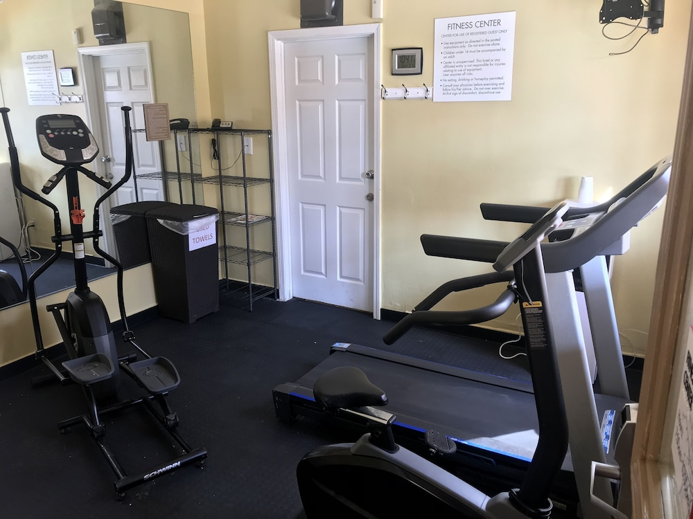 Gym, Ramada by Wyndham & Suites South Padre Island