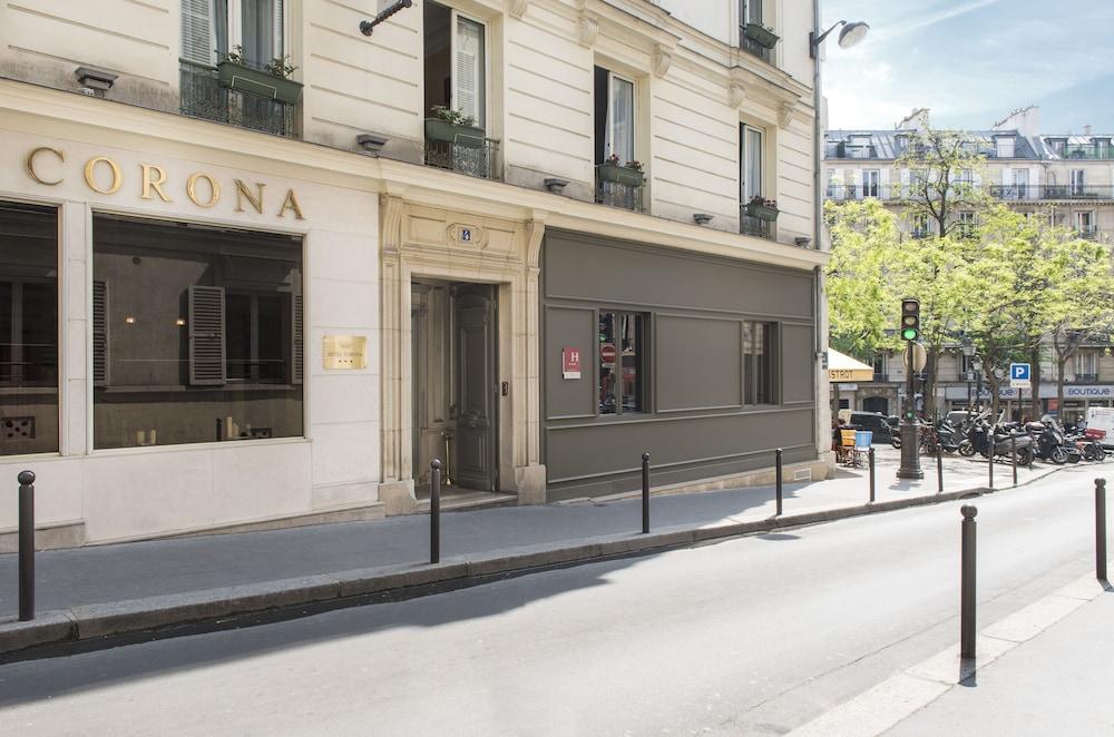Hotel Corona Paris Rue Rodier