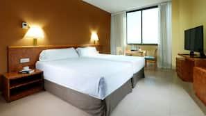 Minibar, coffres-forts dans les chambres, lits bébé (gratuits)