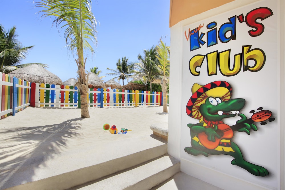 Children's Play Area - Outdoor, Viva Wyndham Azteca Resort - All Inclusive