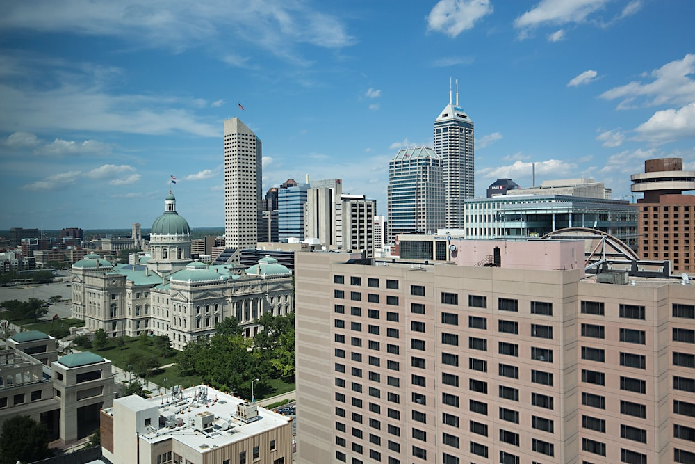 View from Property, Marriott Indianapolis Downtown