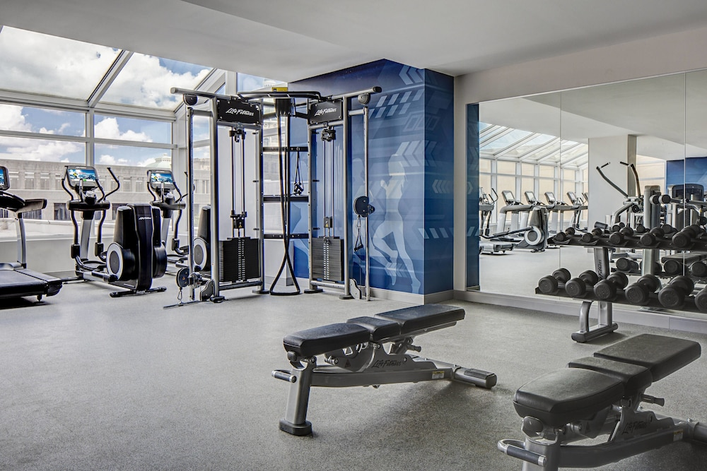 Fitness Facility, Marriott Indianapolis Downtown