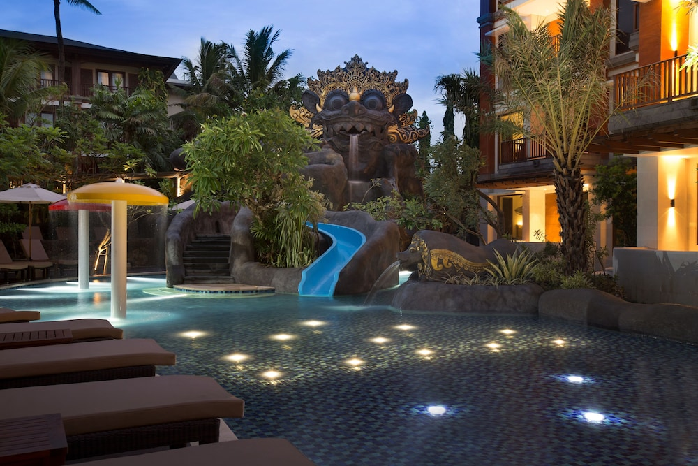 Waterslide, Padma Resort Legian