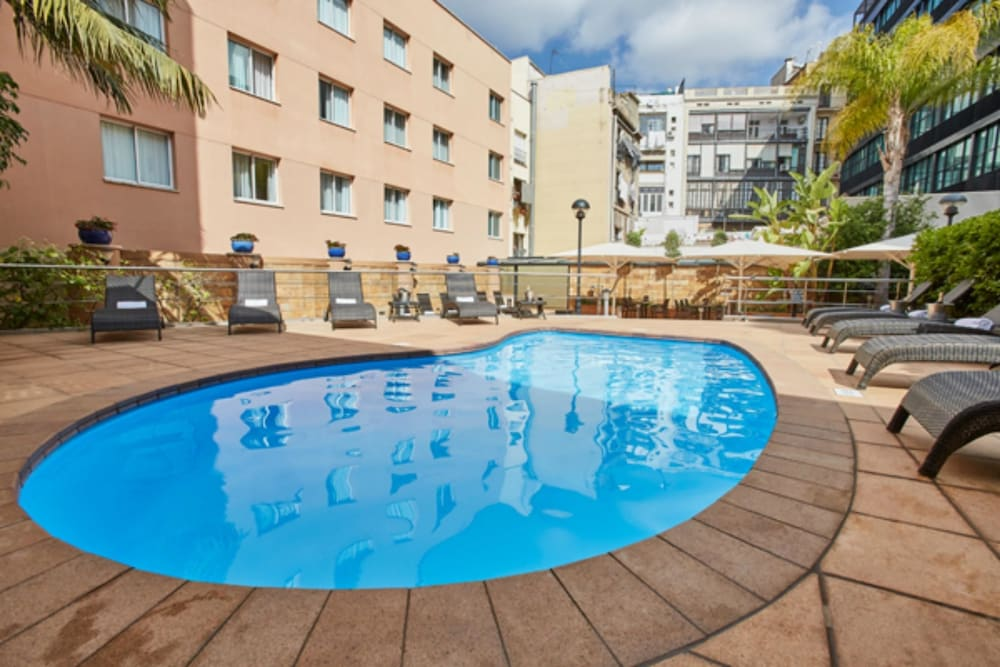 Hotel hcc montblanc in barcelona hotel rates reviews for Hotel per barcellona