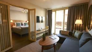 Hochwertige Bettwaren, kostenlose Minibar, Zimmersafe