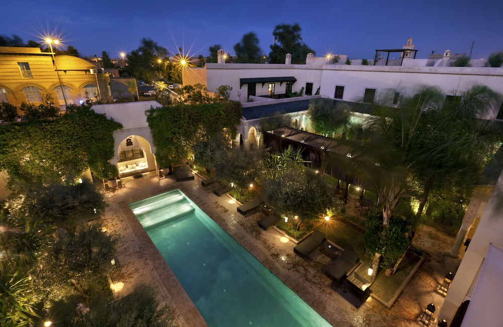 La villa des orangers relais ch teaux marrakech mar for La villa des orangers