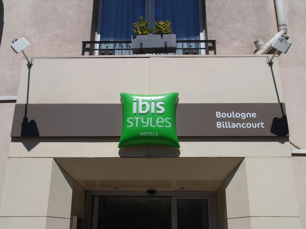 Front of Property, ibis Styles Paris Boulogne Marcel Sembat
