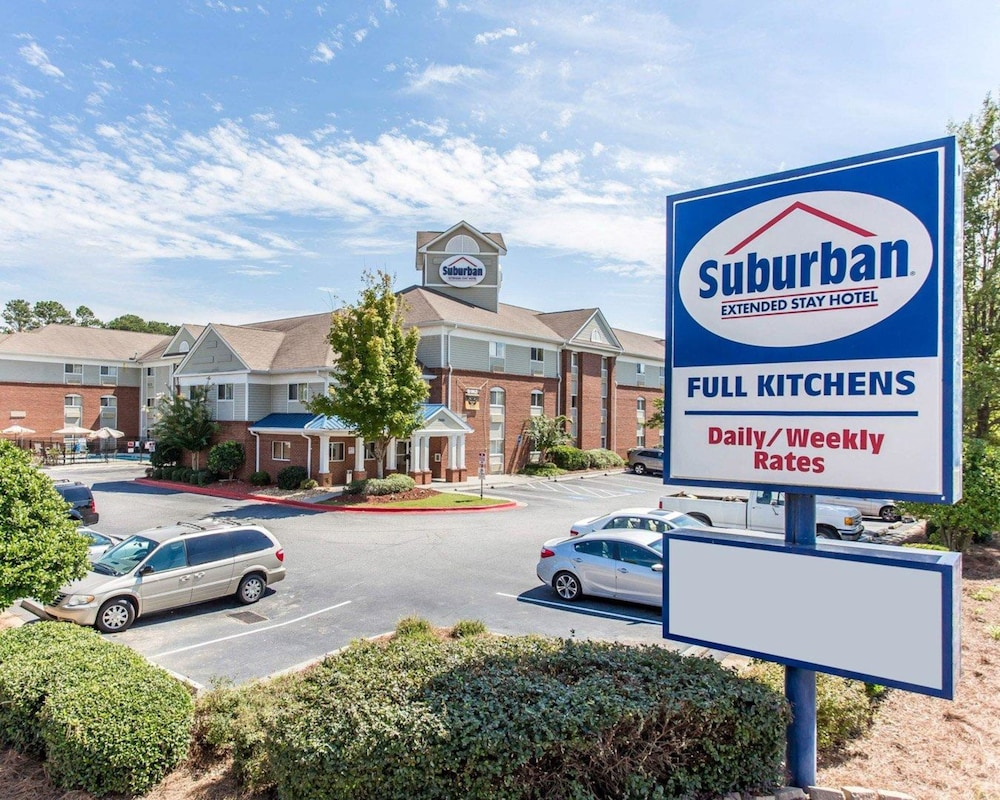Suburban Extended Stay Kennesaw In Cartersville Hotel Rates Reviews On Orbitz