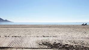 Plage, sable blanc