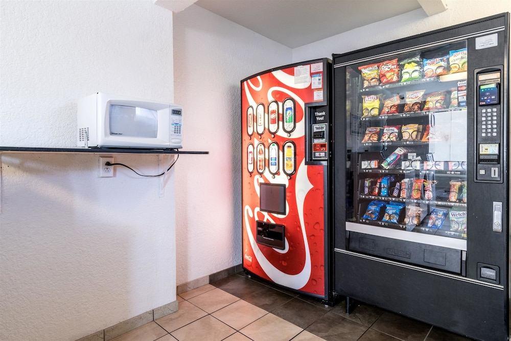 Vending Machine, Motel 6 Anaheim, CA - Fullerton East