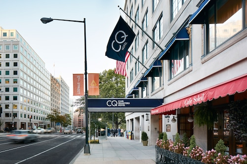Check Expedia for Availability of Club Quarters Hotel in Washington DC