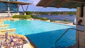 3 outdoor pools, cabanas (surcharge), pool umbrellas