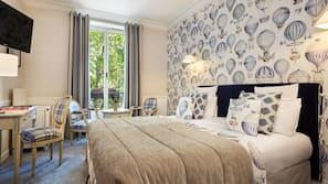 Hochwertige Bettwaren, Pillowtop-Betten, Minibar, Zimmersafe