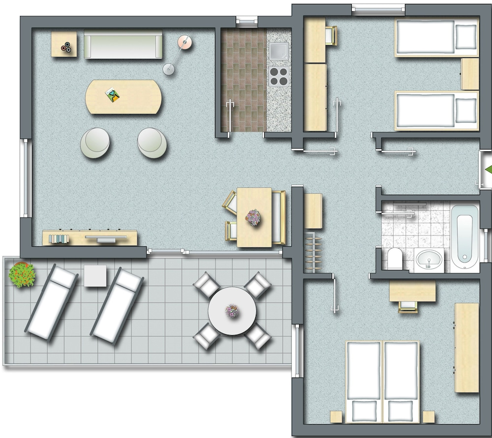 Floor plan, Sporthotel & Resort Grafenwald Daun