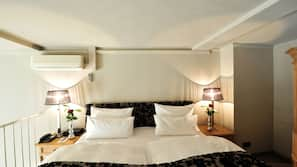 Allergikerbettwaren, Minibar, Zimmersafe, schallisolierte Zimmer