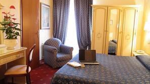 Minibar, una cassaforte in camera, culle/letti per bambini (gratuiti)