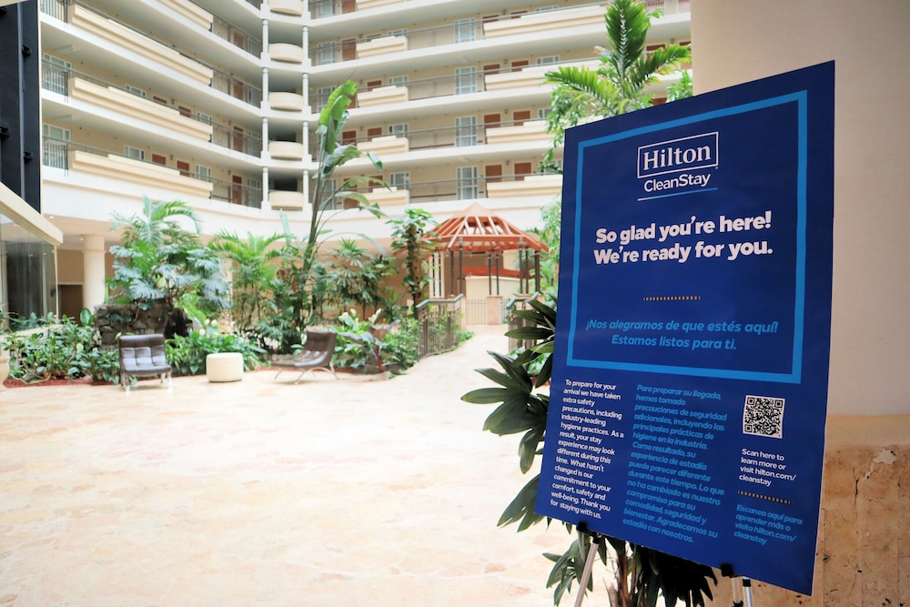 Cleanliness standards, Embassy Suites by Hilton San Juan Hotel & Casino