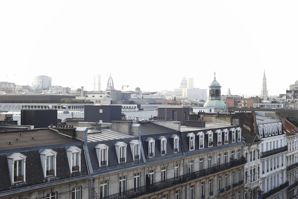 View from Room, Hotel Le Plaza Brussels