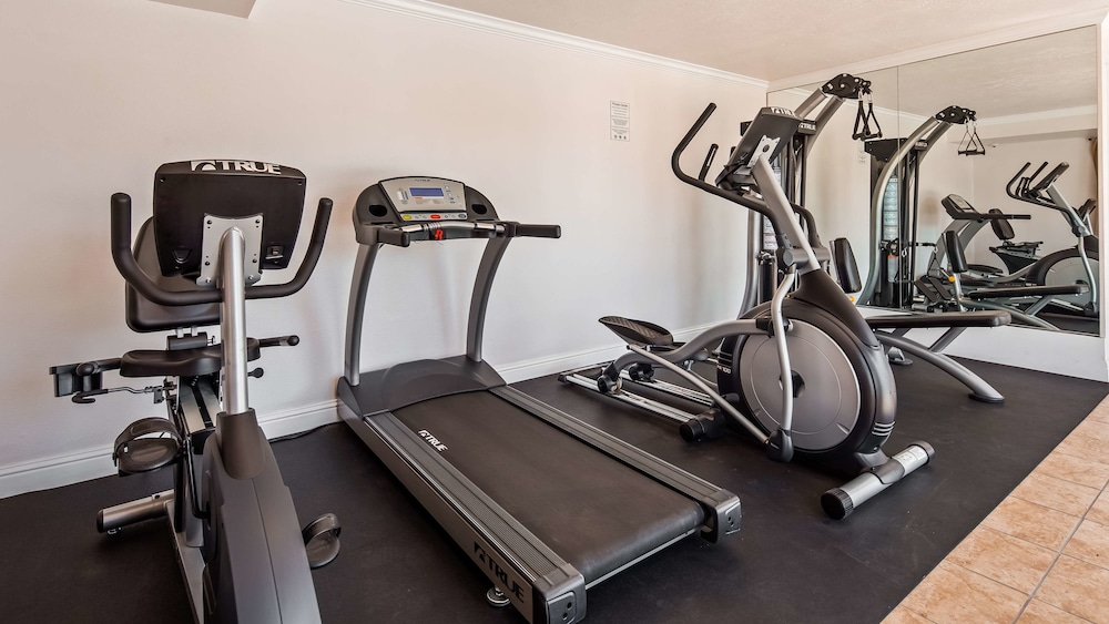 Fitness Facility, Best Western Salinas Monterey Hotel